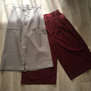 【セット売り】GUパンツ&スカート