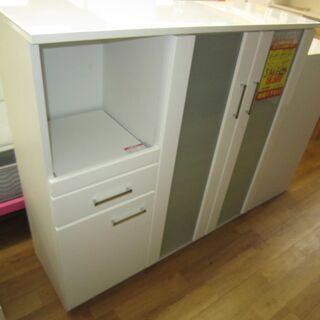 R076 NITORI ハイキッチンカウンター、キッチンボード、...