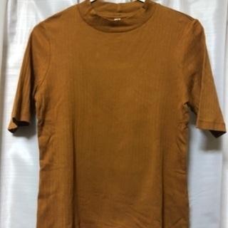 ユニクロ リブTシャツLサイズ レディース