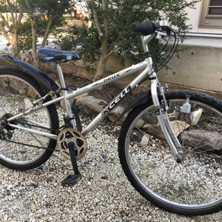 201.ジュニアクロスバイク26インチ