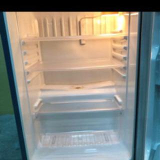 【ネット決済】開発QA160 サンヨー 冷蔵庫 2ドア 03年製...