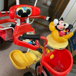 ミッキーの三輪車の画像