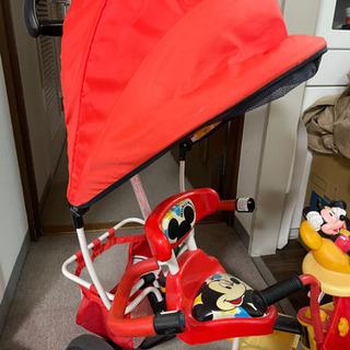 ミッキーの三輪車 - おもちゃ