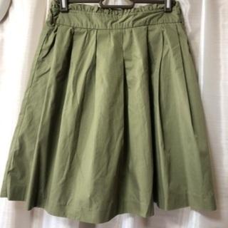 OLIVE des OLIVE スカート カーキ
