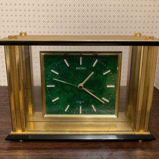SEIKO セイコー  ゴールド 置き時計