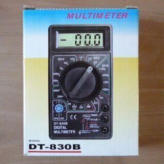 小型デジタルテスター マルチメータ DT-830Bの画像