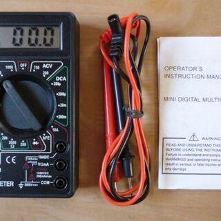 小型デジタルテスター マルチメータ DT-830B - 香芝市