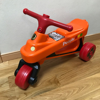 【お話し中】people 公園レーサー 三輪車