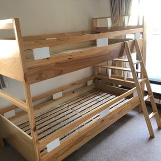 2段ベッドとマット