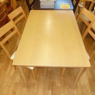 k161☆特価☆ダイニングテーブル5点セット☆デーブル+椅子4脚...