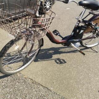 〈1時間100円レンタル〉電動自転車 Panasonic