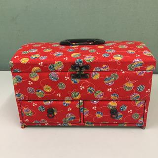 小物入れ 収納ボックス 昭和レトロ 裁縫箱 ケースサイズ幅…