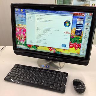 ●富士通 液晶一体型デスクトップパソコン ESPRIMO FMV...