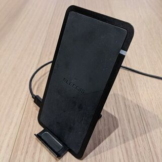 Qiワイヤレス充電器・縦置き/横置き可 ELECOM EC…