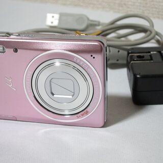 OLYMPUS オリンパス コンパクトデジタルカメラ μ-501...