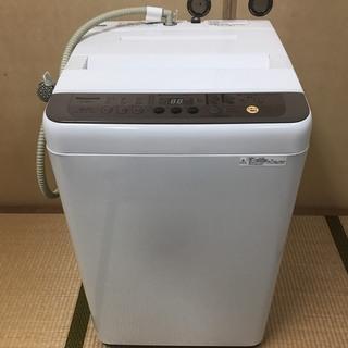 【美品】 Panasonic 全自動洗濯機 縦型 6kg 201...