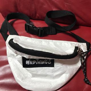 ワイルドシングス ウエストバッグ サコッシュホワイト
