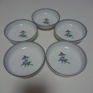 有田焼 醤油皿 ×5