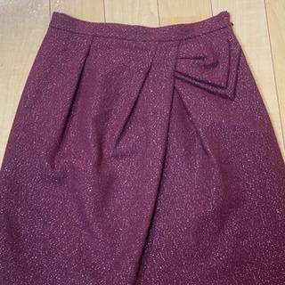 【ネット決済】ワールド系ブランド ラメ入りスカート