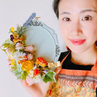 壁掛け春色アレンジ【2種類から選んでください♬】単発レッスンのご...