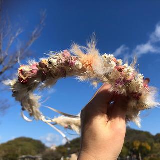 受注制作花かんむり