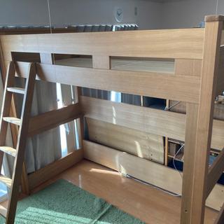 Granz グランツ 高級天然木 木製 ロフト ベッド キッズ ...