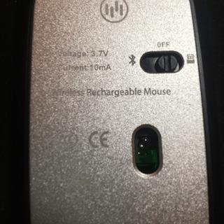 ワイヤレスマウス【LED発光】ほぼ使ってないです - パソコン