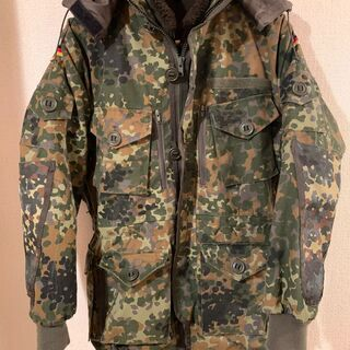 German camo special forces jacke...