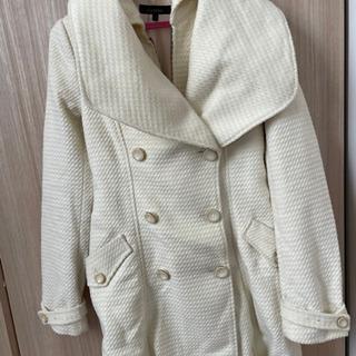 断捨離☆rienda Mサイズ☆ホワイトコート  - 服/ファッション