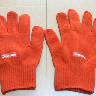 Supreme シュプリーム 手袋 【非売品】【未使用】
