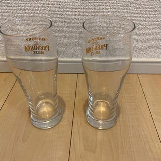 グラス2つ