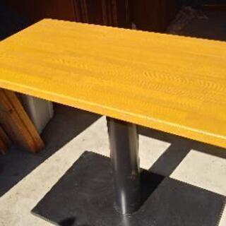 [ダメージ有り]ミーティングテーブル。ダイニングとしても