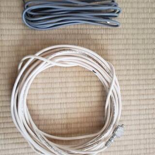 長い長いテレビの同軸ケーブル