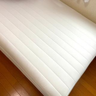 [受渡予定済] あげます!無印良品 脚付きシングルベッド