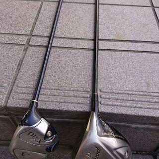 ゴルフクラブ 1w 3w 2本セット