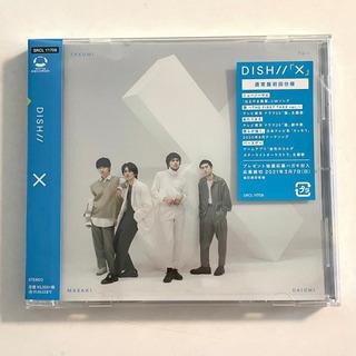 DISH// 4thフルアルバム【X】