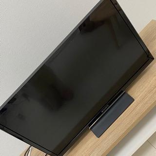 sony bravia 24型TV 後付けHDD セット