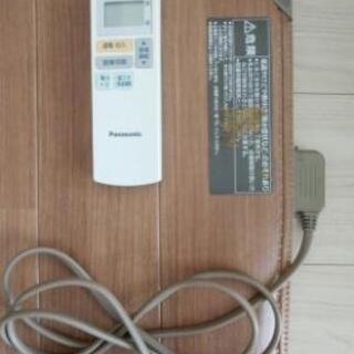 Panasonic電気カーペットかんたん床暖