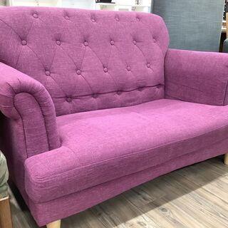 珍しい紫色のソファー!!トレファク愛知蟹江店】