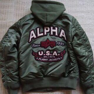 ALPHA フライトジャケット レディース