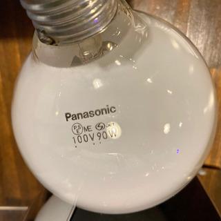 パナボール電球 90Wx2個 used品