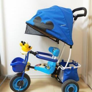(三輪車)カーゴドーム ミッキーマウス