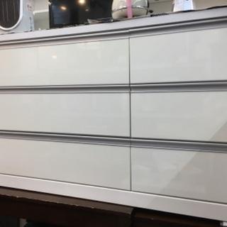 【値下げ】ローチェスト 幅120cm ホワイト