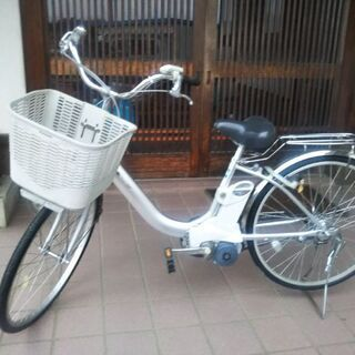 ちよっぴり、値下げ。2017年式電動アシスト自転車ナショナ…