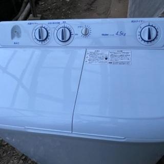 2層洗濯機!!半年使用