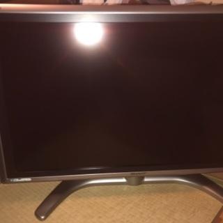 『取引終了』シャープ2005年製37型液晶テレビ