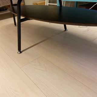 折りたたみローテーブル/木目調テーブル - 中央区