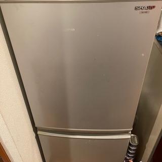 冷蔵冷凍庫SHARP SJ-14S-W