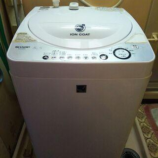 洗濯機 シャープ SHARP ES-55E2 容量5.5kg