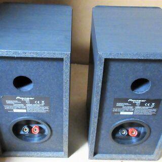 ☆パイオニア Pioneer S-HM50 SPEAKER サテライトスピーカー◆黒木目調のキャビネットで高い質感 - 家電